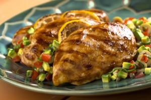 pechuga de pollo comer de noche para bajar de peso