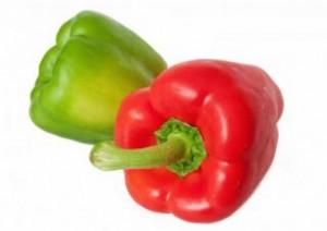 quemar grasa abdominal con vitamina c comiendo pimiento rojo y verde