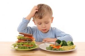 la alimentacion saludable para los niños es necesaria para su crecimiento