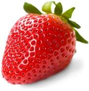 que vitaminas contienen las frutas como la fresa