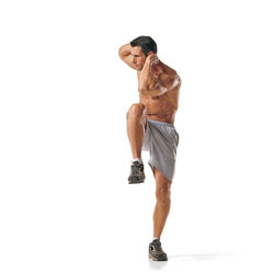 ejercicios para bajar el abdomen abdominales de pie