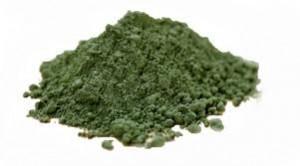 el alga spirulina en polvo