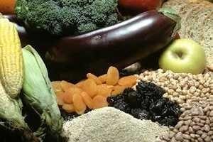fibra en los alimentos frutas