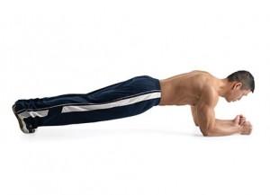 como hacer ejercicios en casa la plancha o plank
