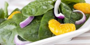 propiedades de la espinaca con las comidas