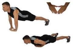ejercicio para pectorales push up diamante